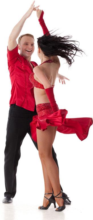 Ballroom Dancing Illustration